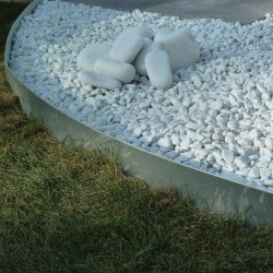 bordure jardin acier flexible