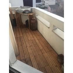 Dalle bois clipsable balcon XTiles