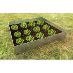 Carré potager acier galvanisé légumes