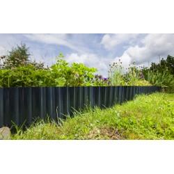 Bordure de jardin ondulée posée