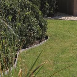 Bordure de jardin enroulée Ecolat 25 m posée