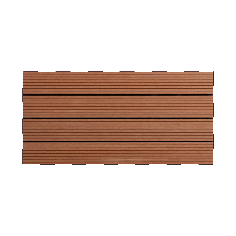 snap and go decking composite brun